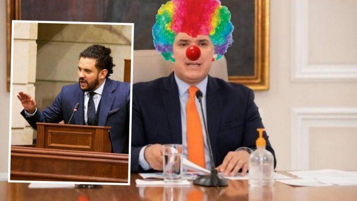 Inti Asprilla se burla de Iván Duque por sus constantes comedias