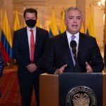 Quiero anunciarle a Colombia que en la tarde de hoy, procedente de Bélgica, llegará a nuestro país el primer cargamento de vacunas de la farmacéutica Pfizer