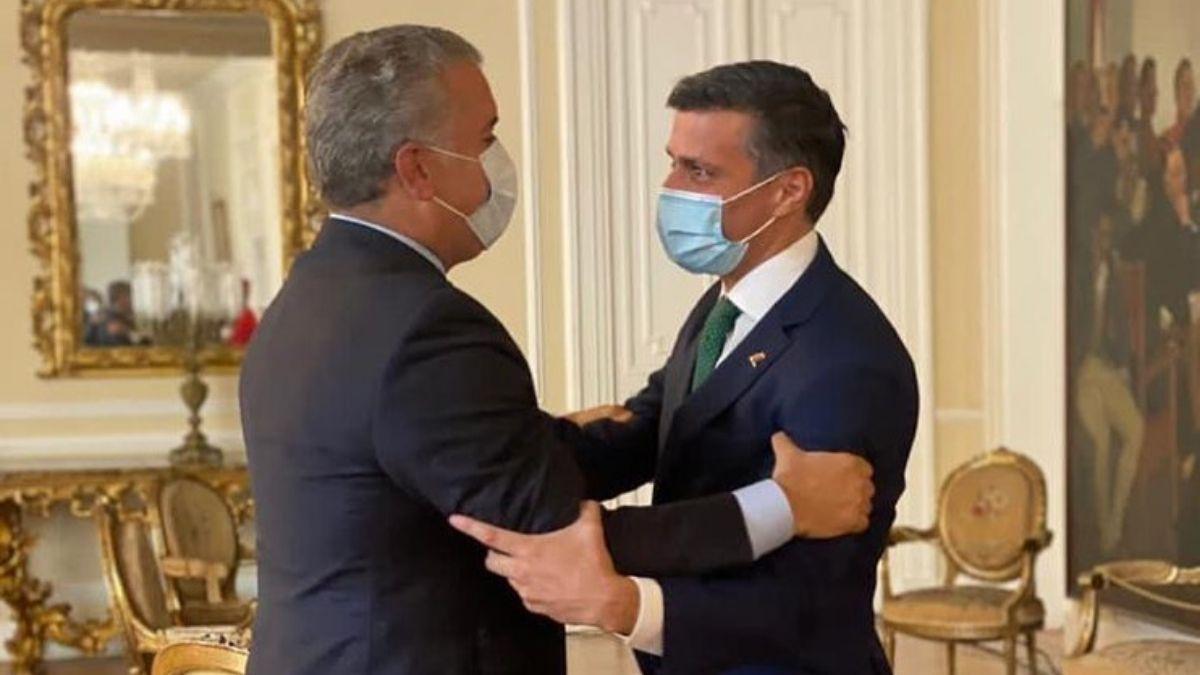 Iván Duque y Leopoldo López