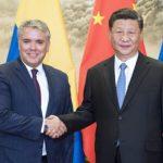 Iván Duque y Xi Jinping