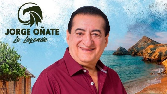 Jorge Oñate se recupera de la mejor manera.