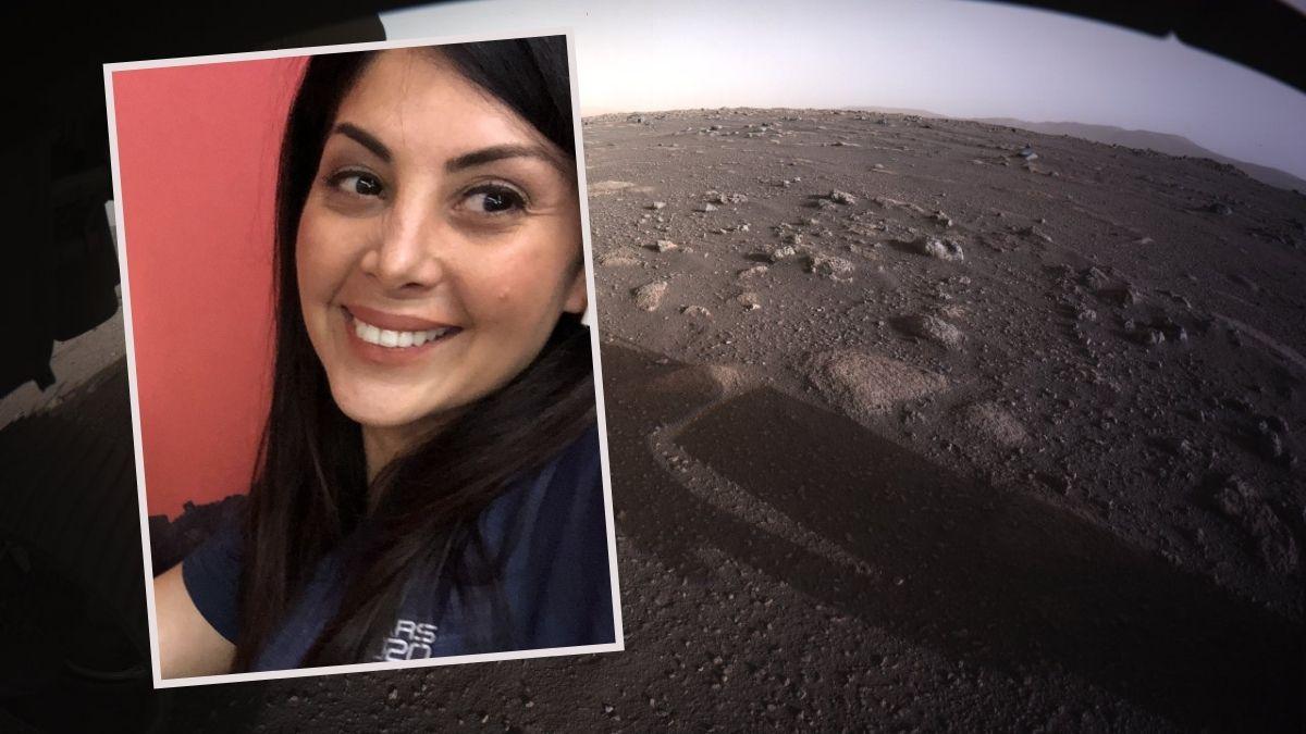 La primera imagen de alta definición del planeta Marte, Diana Trujillo participó de la misión de la NASA.