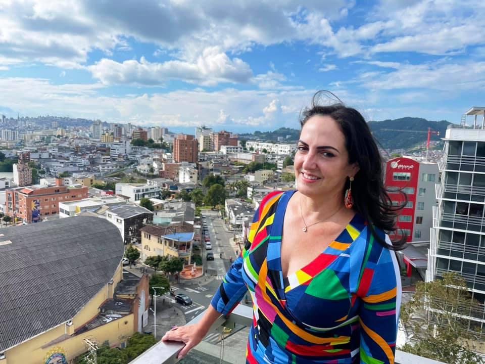 María Fernanda Cabal en Manizales Facebook