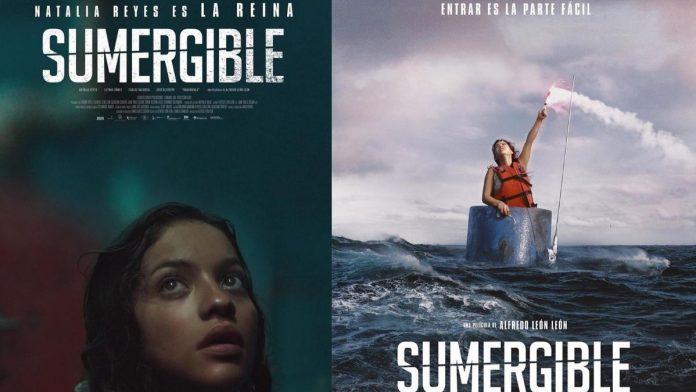 Natalia Reyes en la película Sumergible