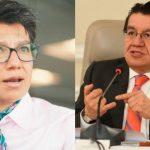 Nueva discusión entre Claudia López y el Ministro de Salud