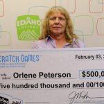 Orlene Peterson se ganó dos veces el sorteo de la lotería en EE.UU.