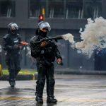Protestas por cierre de bares en Bogotá