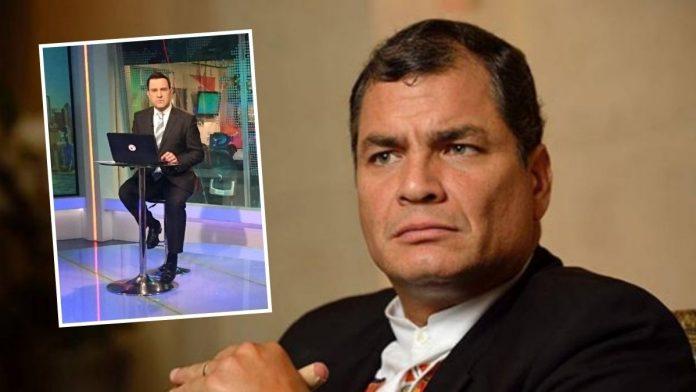 Rafael Correa le canta la tabla a periodista de NTN24