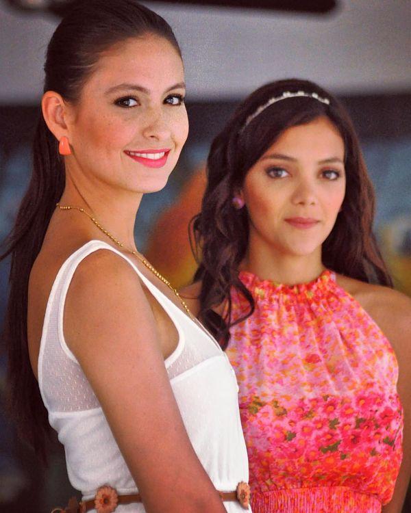Taliana Vargas interpretando a la esposa de Rafael Orozco