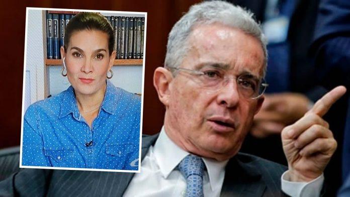 Vanessa De La Torre defiende palabras de Álvaro Uribe Vélez