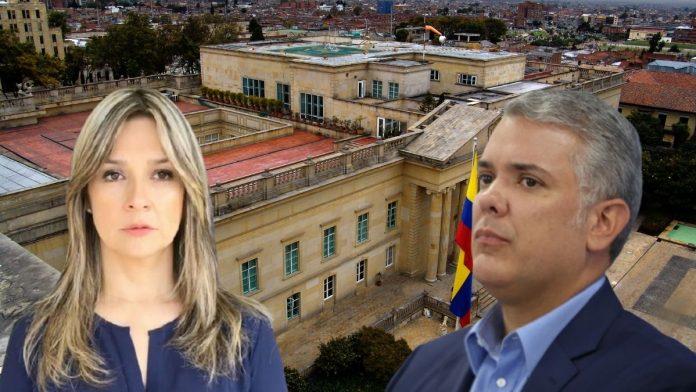 Vicky Dávila defiende al presidente Duque