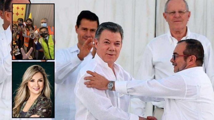 Vicky Dávila sobre los acuerdos de paz y la vacunación