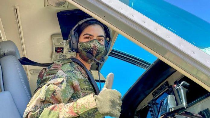 A mujer del Ejército le dio dos veces covid-19. Foto Facebook