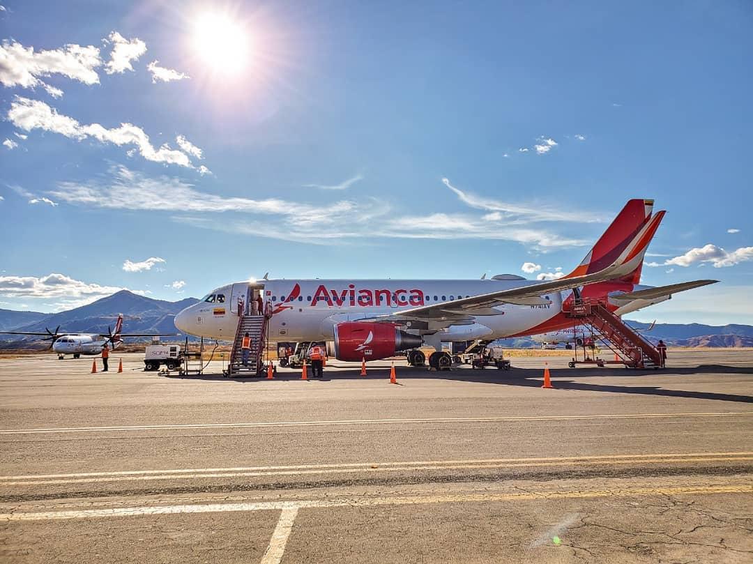 Airbus A319. Foto: Avianca.