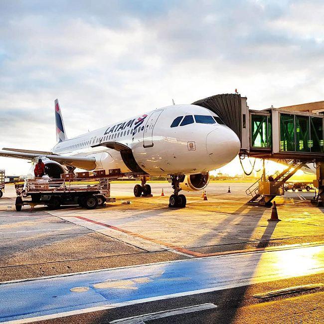 Airbus A320. Foto: LATAM.
