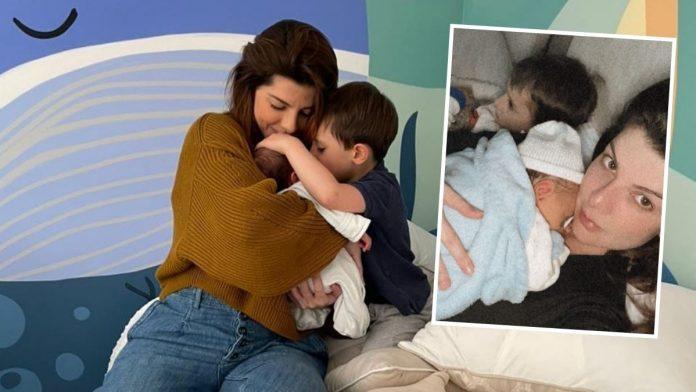 Carolina Cruz revela rostro de su hijo Salvador