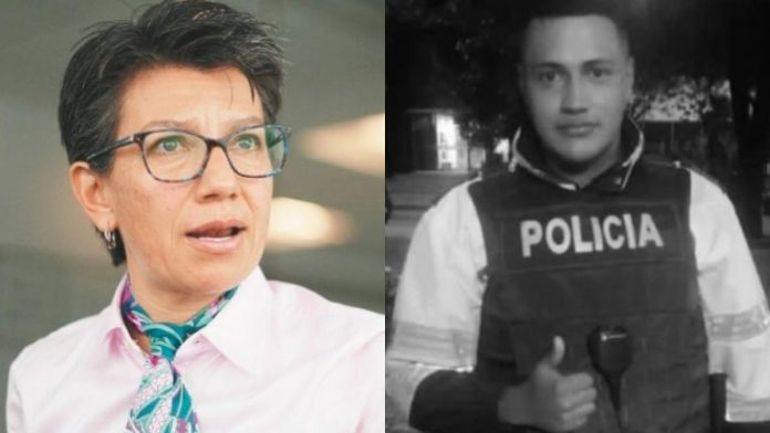 Críticas a Claudia López tras homenaje a Edwin Caro