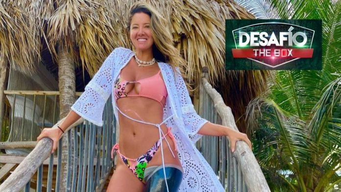 Daniella Álvarez , Desafío the box
