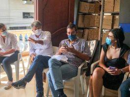 Distrito de Cartagena se reúne con representantes de los peajes de la ciudad.