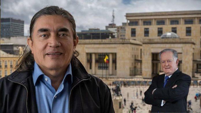 El hijo de Gustavo Bolívar y Sarmiento Angulo.