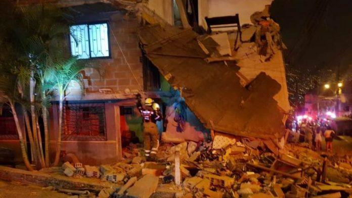 Explosión en Medellín