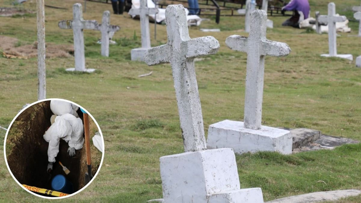 Falsos positivos en cementerio de Medellín