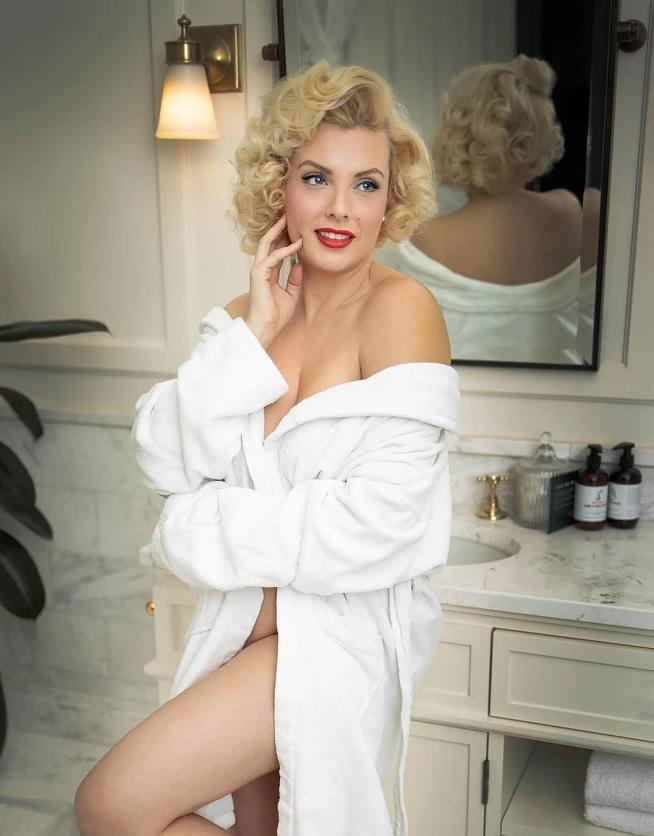 Imitadora de Marilyn Monroe