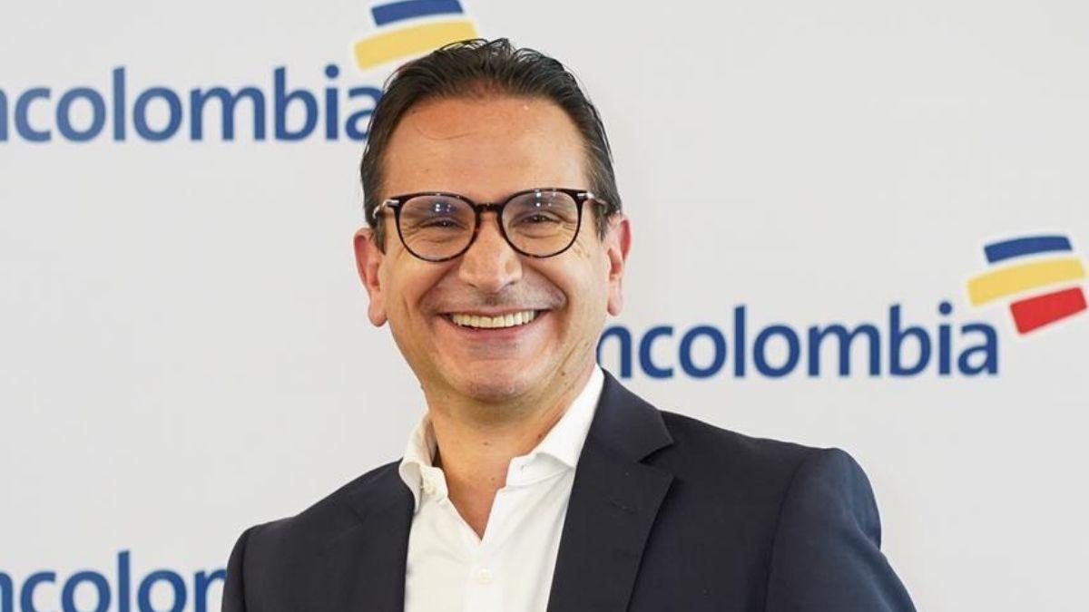Juan Carlos Mora, presidente del Grupo Bancolombia
