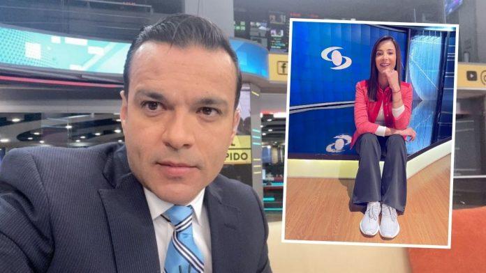 Juan Diego Alvira reta a Alejandra Giraldo en Noticias Caracol