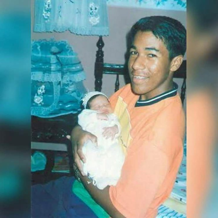 Kaleth Morales fue padre a sus 16 años.