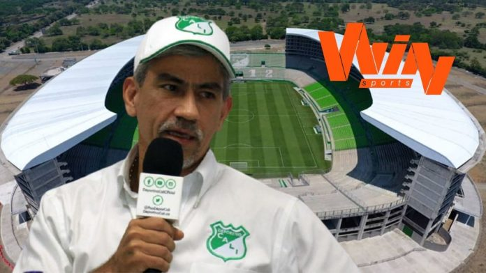 La propuesta del presidente del Deportivo Cali, Marco Caicedo sobre los derechos de televisión