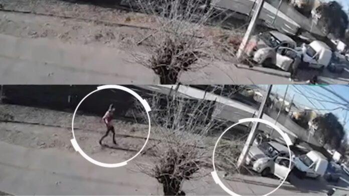 Madre entrega a su hijo por robo de auto a mujer que hacía delivery Foto Meganoticias