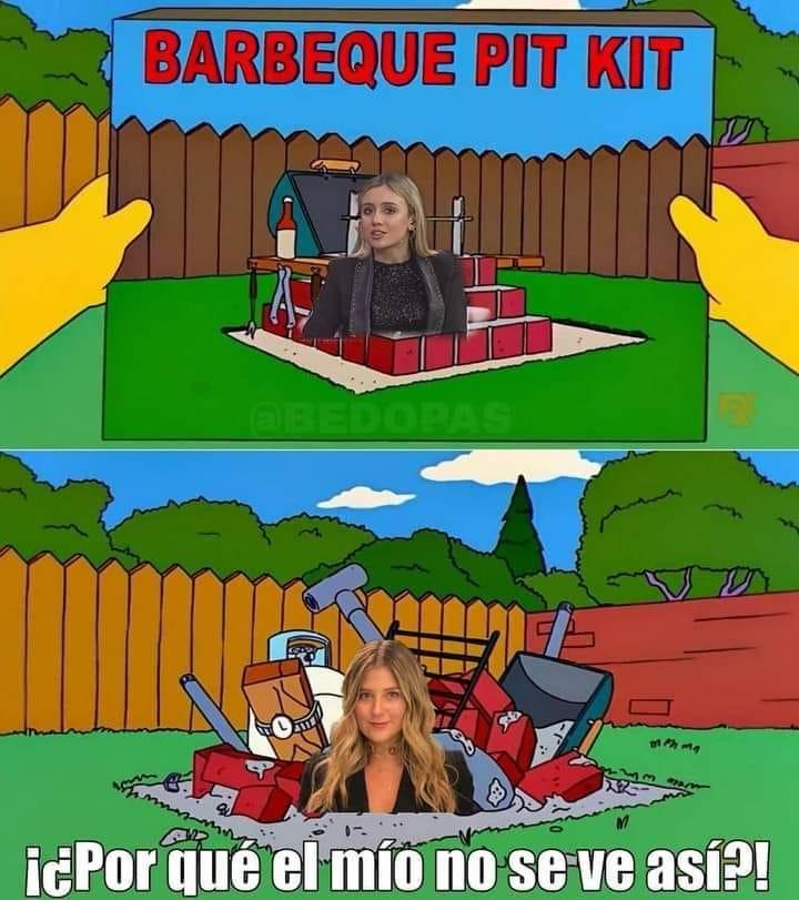 Meme de Andrea Guerrero y Morena Beltrán