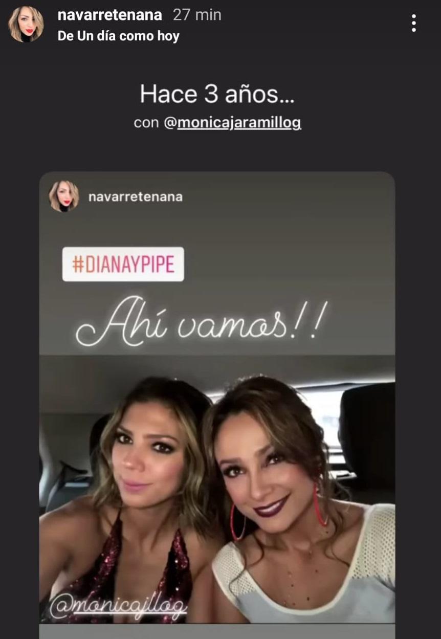 Mónica Jaramillo y Ana María Navarrete.