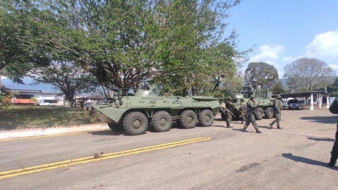 Operativos de la Fuerza Armada de Venezuela contra las disidencias de las FARC