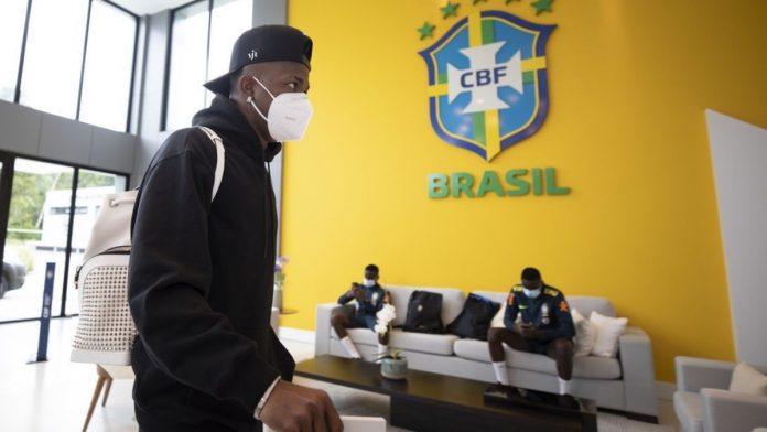 Se embolata partido de Colombia vs Brasil