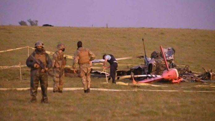Se estrelló helicóptero que trasladaba vacunas de Pfizer en Uruguay