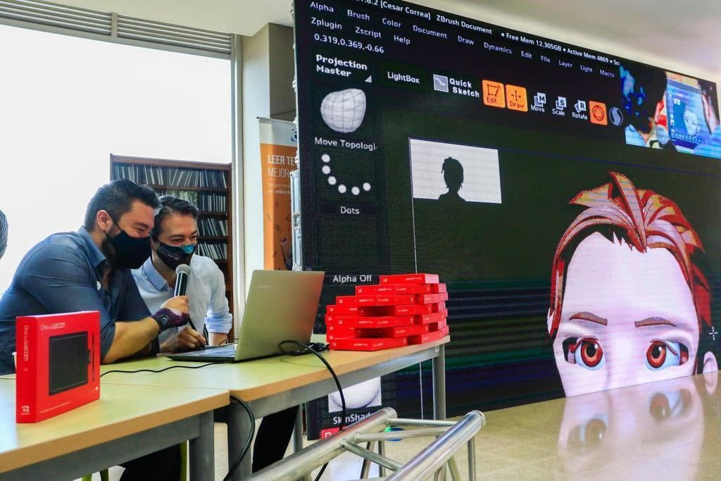 Alcaldía de Medellín entrega 1.000 tabletas digitalizadoras Wacom a estudiantes de cine, videojuegos y entretenimiento digital.