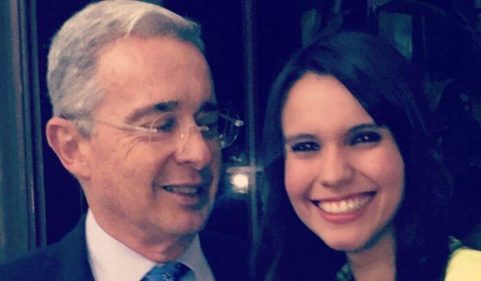 Álvaro Uribe Natalia Bedoya