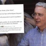 Álvaro Uribe se habría reunido con los hijos de Rodriguez Orejuela