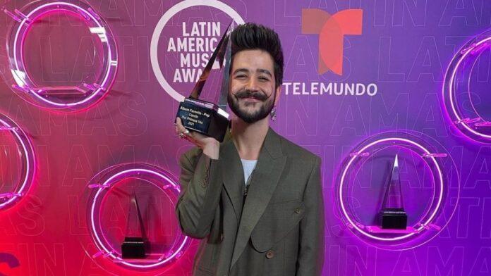 Camilo gana por álbum favorito pop