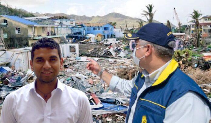 David Racero viajó hasta San Andrés