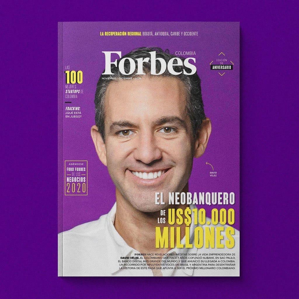 David Vélez revista Forbes