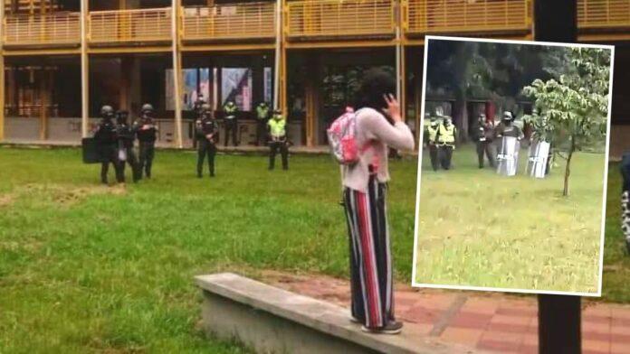 ESMAD y Policía en UniValle