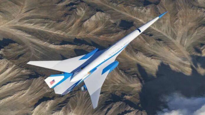 Exosonic ha lanzado las nuevas imágenes conceptuales de un avión que podría convertirse en Air Force Two Crédito Zuma Press