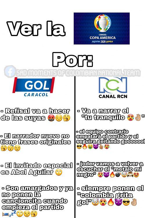 GOL CARACOL VS RCN TELEVISIÓN