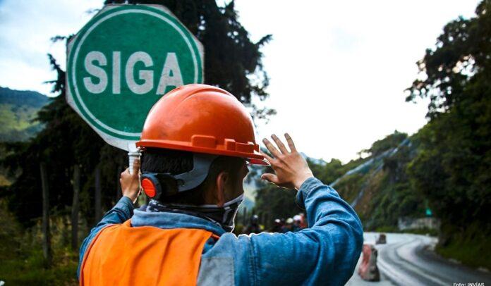 INVÍAS realiza cierre temporal nocturno del corredor Calarcá - Cajamarca para realizar trabajos de reforzamiento de taludes y brindar seguridad sobre la vía