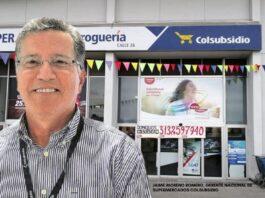 Jaime Moreno Romero, Gerente Nacional de Supermercados Colsubsidio