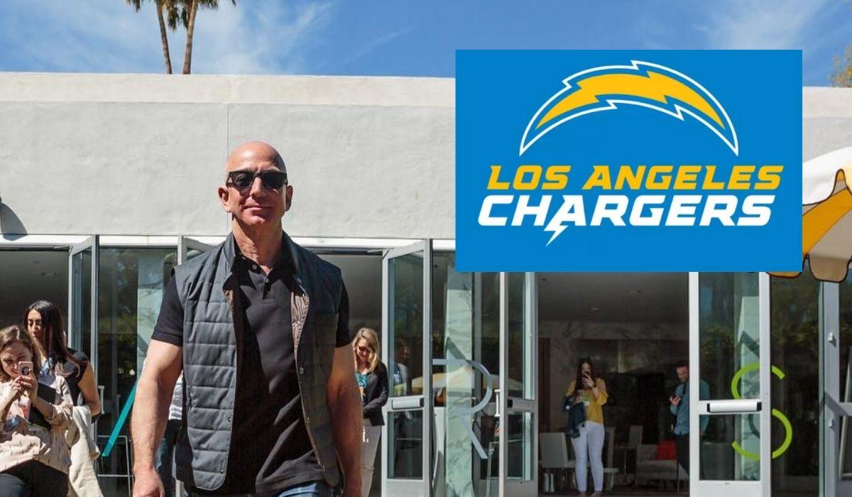 Jeff Bezos va por los Angeles Chargers