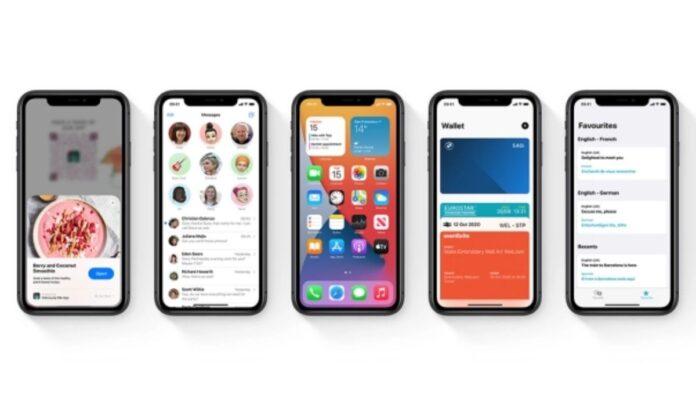 La nueva función está incluida en la última versión de iOS 14 Crédito Apple